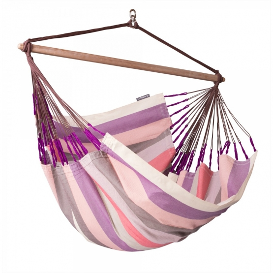 La Siesta Lounger Domingo Plum