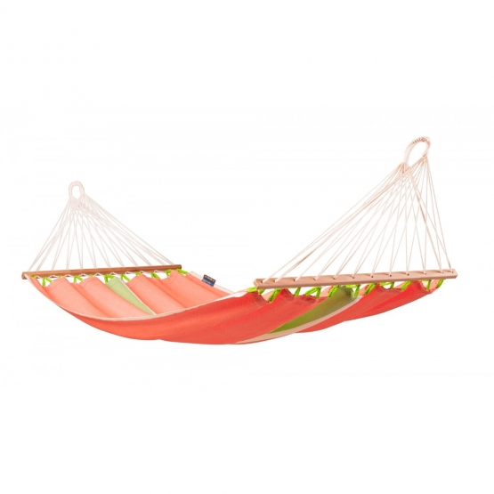 La Siesta Single Hammock with spreader bars Fruta Mango