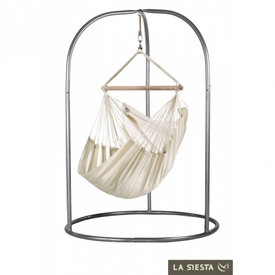 La Siesta Modesta Modesta Latte - Hanging chair Basic with steel frame